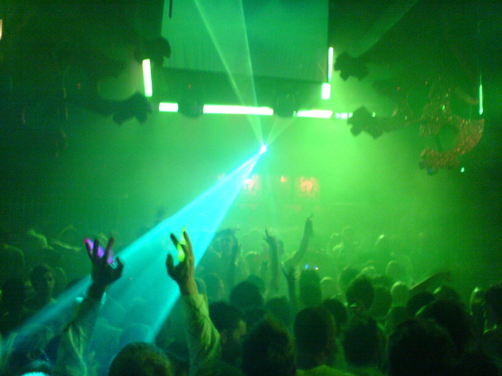 GateCrasher One Night Club.